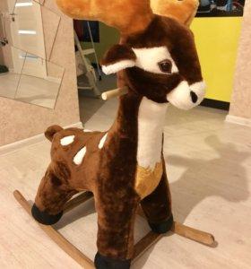 Качалка детская олень
