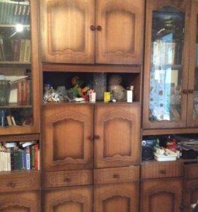 Стенка (шкафы: посудный, книжный, для одежды)