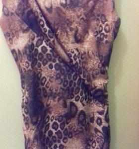 Платье вечернее леопардовое