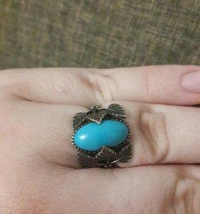 Кольцо серебряное старое.