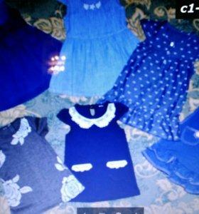 Новые платья разных размеров