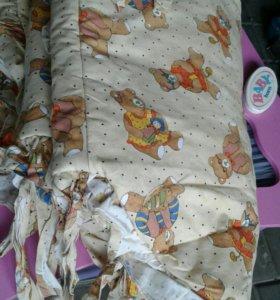 Борти для кровать