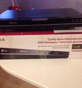 DVD Рекордер с жёстким диском LG HDR899