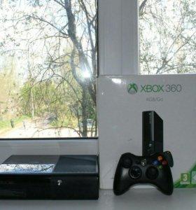 Xbox 360 E + прошивка LT. 3.0 + hdmi + игра(торг)