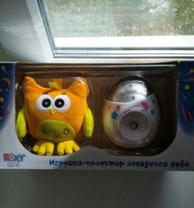 Ночник-проектор звездного неба Roxy-kids «Olly» с