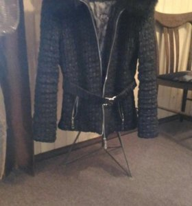 Куртка женская с песцом