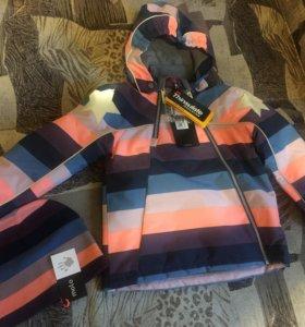 Новая зимняя куртка Molo (Дания) 116