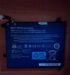 Батарея на Acer A 501