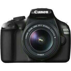 Зеркальный фотоаппарат Canon EOS 1100D KIT 18-55 D
