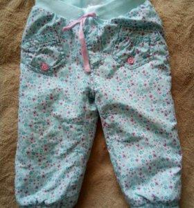 Утеплённые штаны