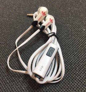 Наушники с микрофоном (гарнитура) новые в коробке