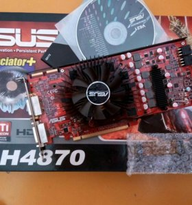 Продам видеокарту asus EAH4870 1GB