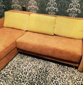 Продам угловой диван+доставка