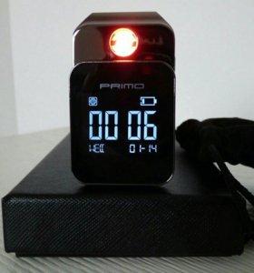 usb часы зажигалка LED