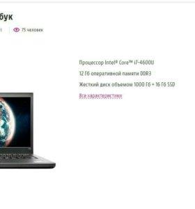 бинес Lenovo THINKPAD T440s fullhd i5/12gb/1tb+ssd