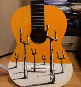 Гитара с обложкой MUSE