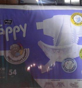 ПРОДАМ ПАМПЕРСЫ HAPPY JUNIOR EXTRA 6 (16+ кг)