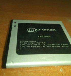 Аккумулятор к смартфону micromax d303