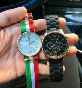 Часы цена за обе