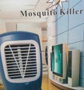 Уничтожить летающих насекомых с вентилятором