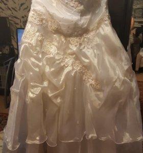 Свадебное платье♡♡♡
