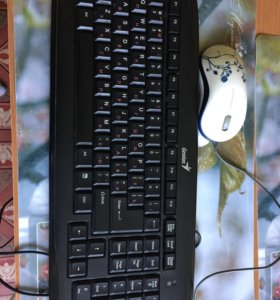 Клавиатура и мышка.
