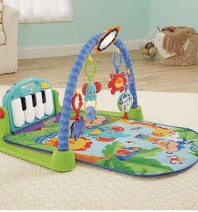 Музыкальный развивающий коврик ( пианино)