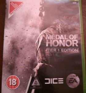 Medal of honor для XBOX360