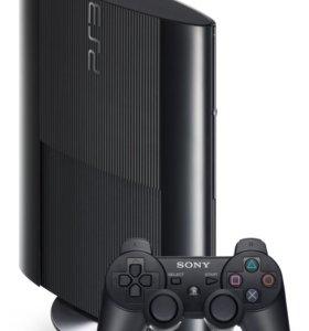 Игровая консоль Sony PlayStation 3 +диски