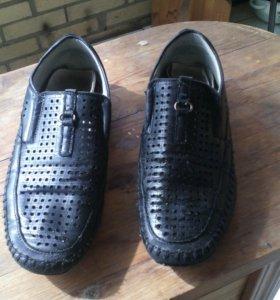 Школьные туфли на мальчика р.34