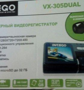 Видеорегистратор INEGO VX-305 DUAL