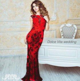 Вечернее платье с открытой спиной!)