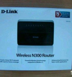 WiFi роутер Dlink dir-615