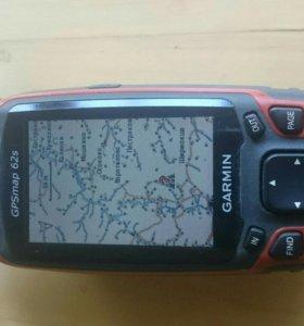 Туристический навигатор Garmin GPS 62s