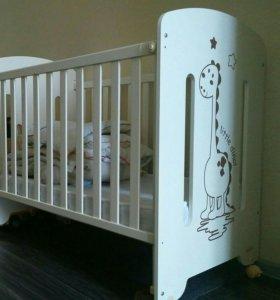 Детская кроватка Micuna little dino