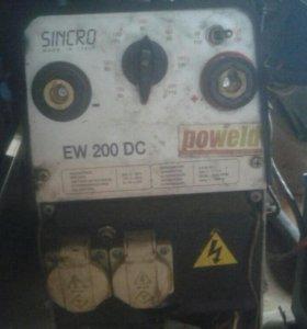 Дизельный сварочный агрегат SDMO VX 180/4 DE