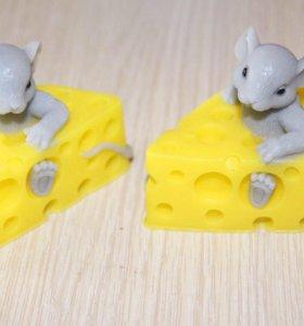 Мыло мышка и сыр