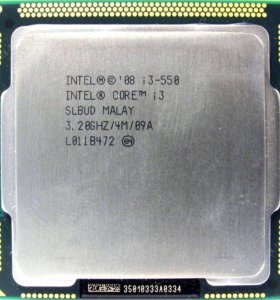 Core i3-550(socket 1156)