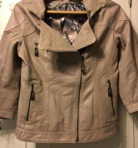 Кожаная куртка Guess новая