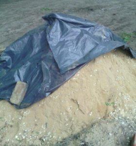 Песок + щебень 1 куб