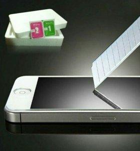 Чехлы и стекла на IPhone
