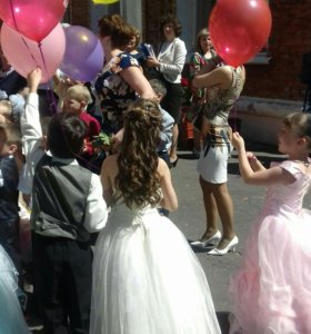 Платье на выпускной в садик