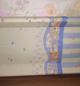 Столик-накладка для пеленания