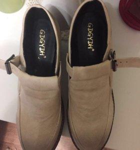 Туфли на платформе. Новые