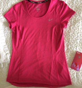 Футболка Nike Running новая размер S