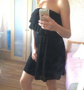 Платье шифоновое гафре