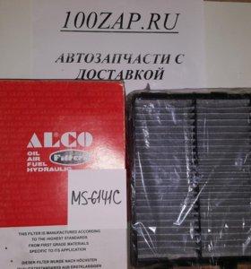 Фильтр салона угольный MS-6141C Alco
