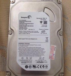Жёсткий диск seagate 80 гб