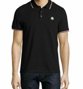 Мужская футболка Поло Moncler размеры 46-56, новая