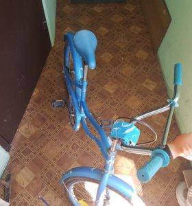 Велосипед.Покупала за 10.000руб